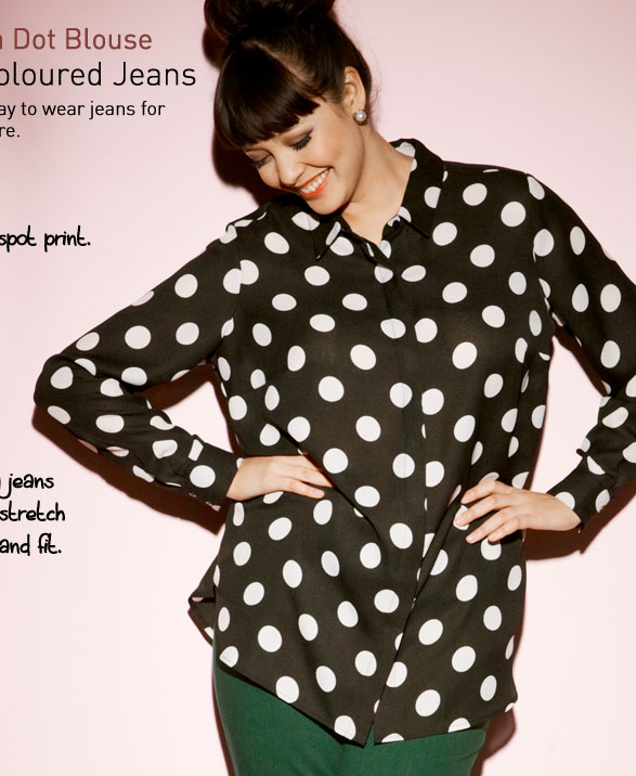 the Polka Dot Blouse