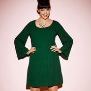 The Bell Sleeve Tunic Dress