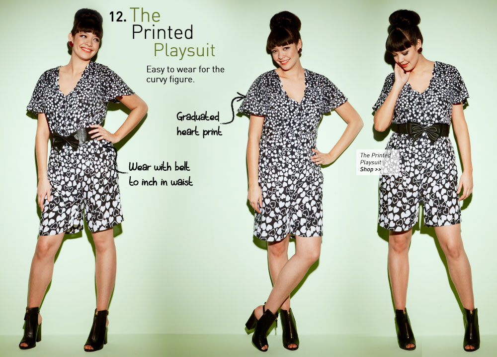 the Printed Playsuit