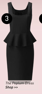 The Peplum Dress