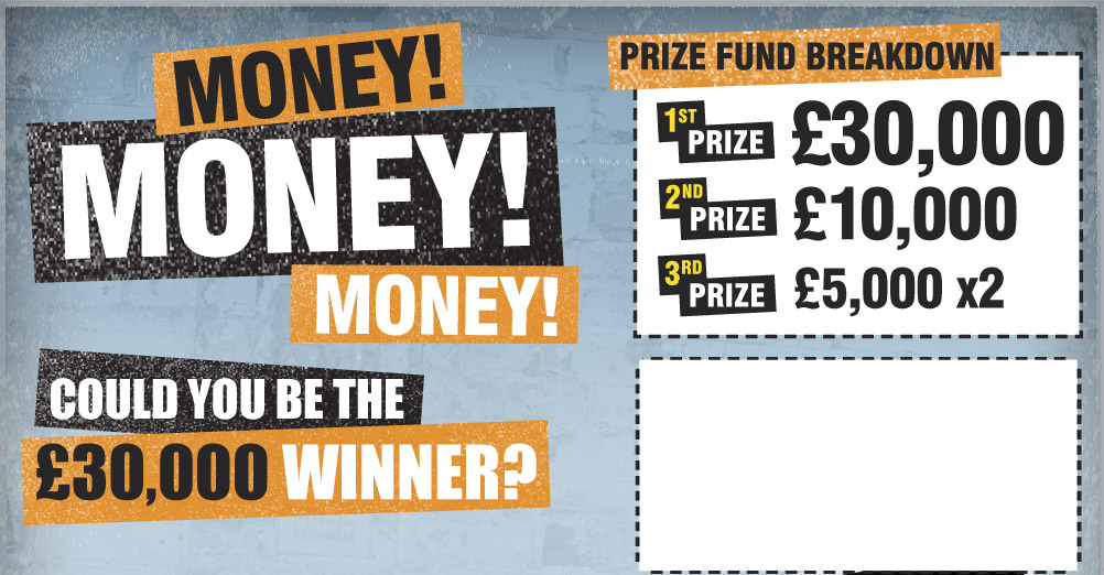 Could you be the £30,000 Winner?