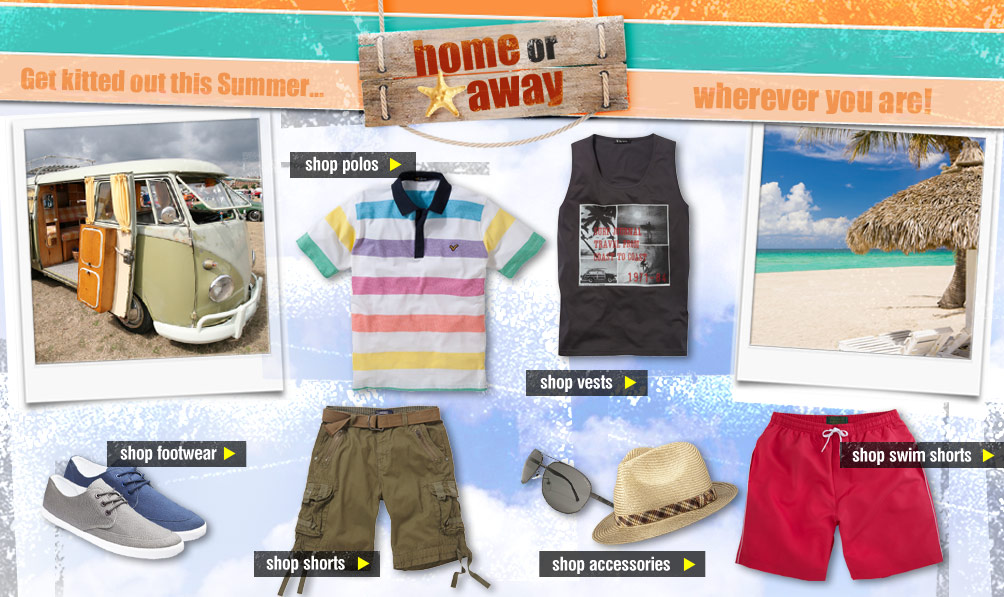 Jacamo Holiday Shop - Home or Away