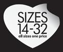 Sizes 14-32
