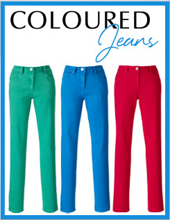 Coloured Jeans >