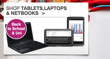 Tablets, Laptops & Netbooks