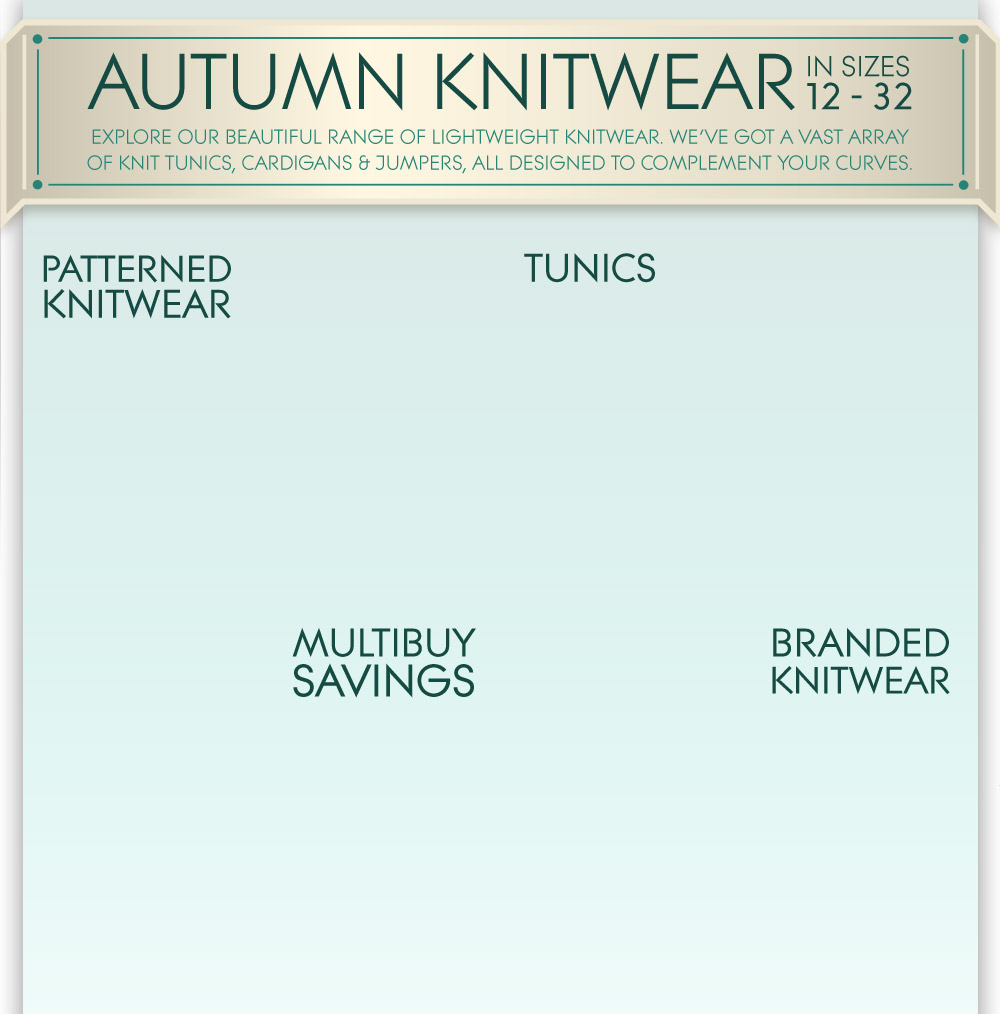 autumn knitwear