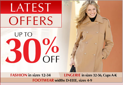Latest Offers up to 40% Off >