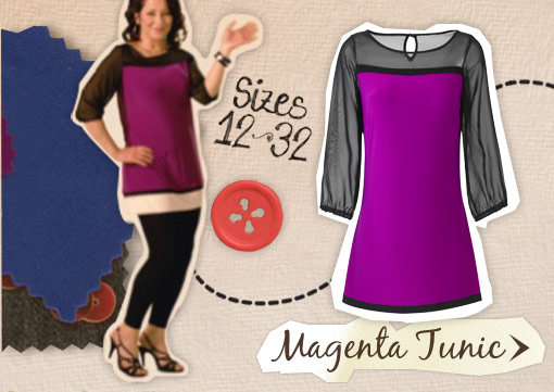 Magenta Tunic &gt;