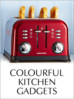 Colourful Kitchen Gadgets >