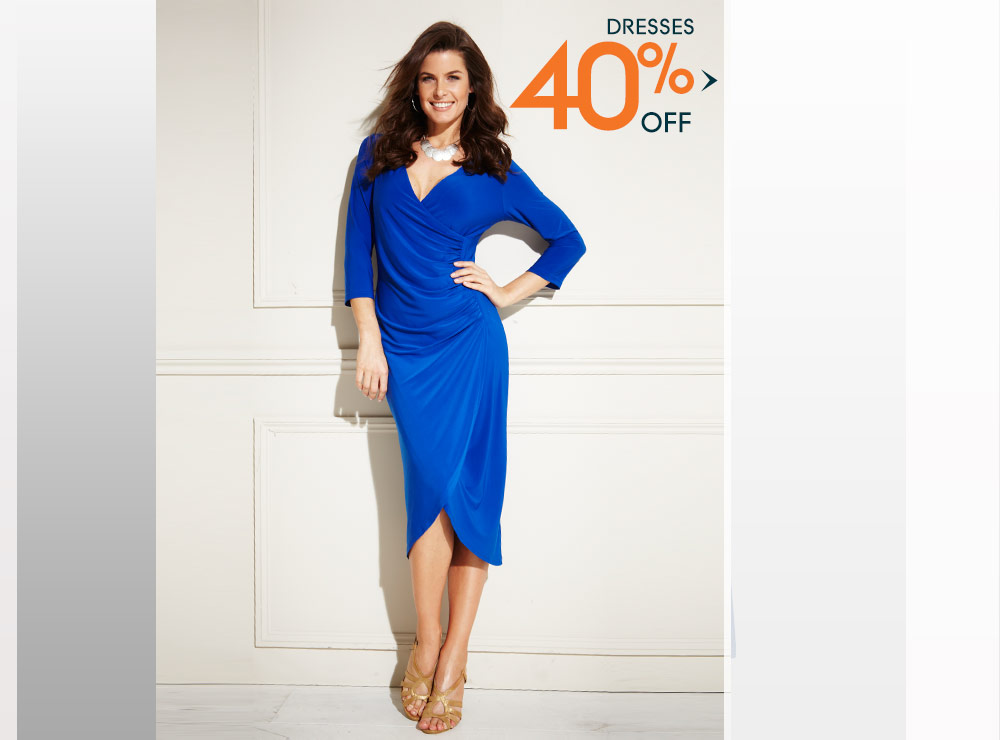 Womens Dresses - 35% off