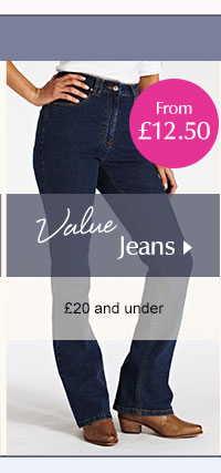 Value Jeans - £20 and under