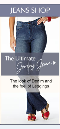 The Ultimate Jersey Jean - The look of Denim and the feel of Leggings