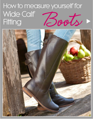 How to measure yourself for Wide Calf Fitting Boots