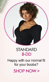 Standard B-DD - Happy with our normal fit for your boobs?
