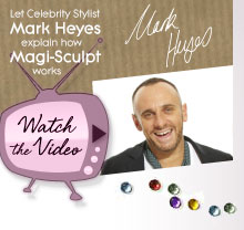 Let Celebrity Stylist Mark Heyes explain how Magi-Sculpt works