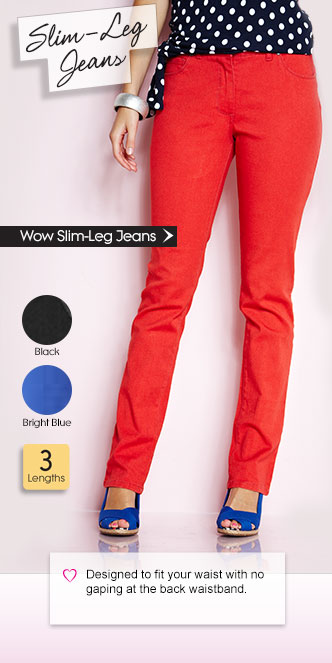 Wow Slim-Leg Jeans
