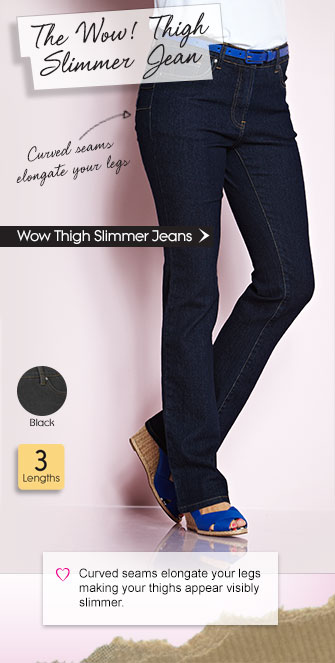 Wow Thigh Slimmer Jeans