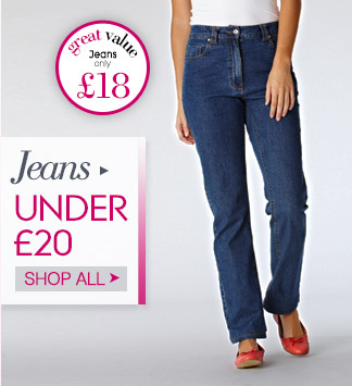 Jeans under 20
