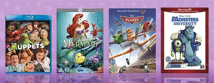 Disney DVD and Blu-ray