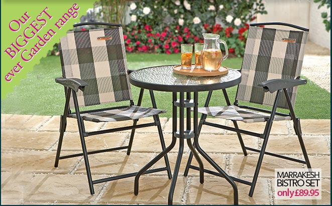 Marrakesh Bistro set