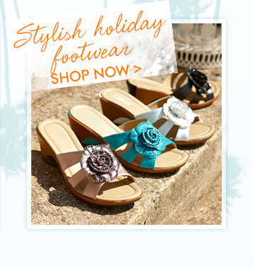 Stylish Holiday Footwear