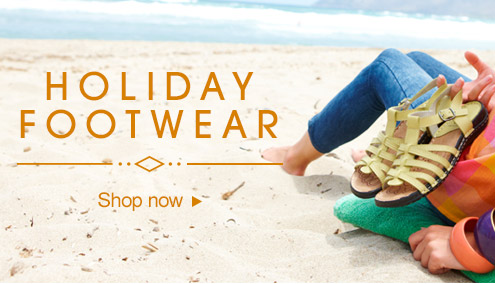Holiday footwear - shop now >