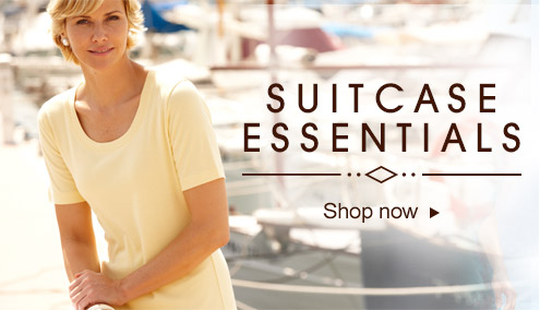 Suitcase essentials - shop now >