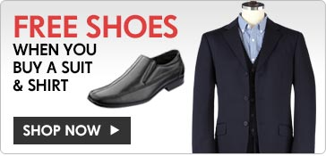 Free Shoes When You Buy a Suit & Shirt