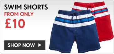 Swim Shorts from only 10