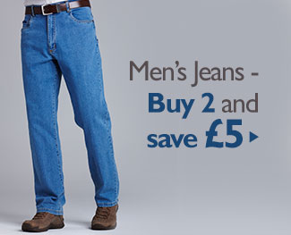 Men's Jeans - Buy 2 and save £5