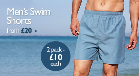 Men's Swim Shorts from £20