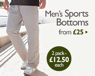 Men's Sports Bottoms from £25