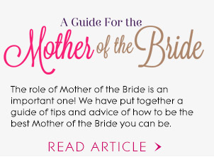 A Guide For The Mother Of The Bride