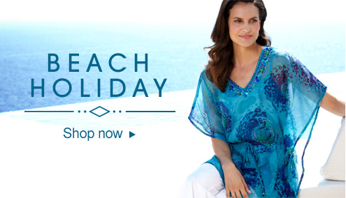 Beach holiday - shop now >