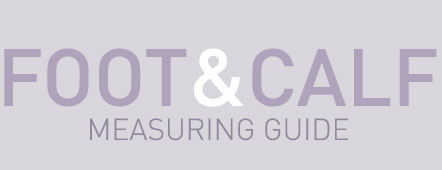 Foot & Calf Measuring Guide