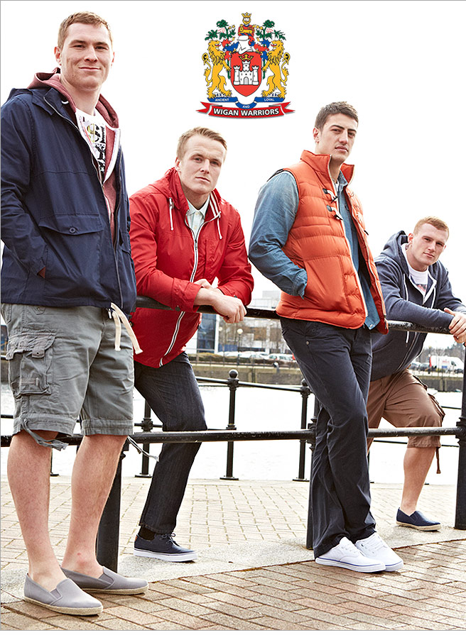Wigan Warriors – New Spring Styles