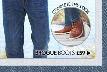 Brogue Boots £59 >