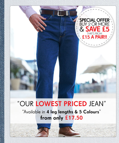 Our Lowest Priced Jean >