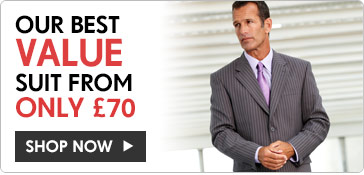 Our best value suit from only £70 >