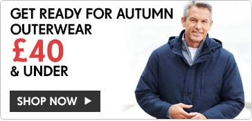 Get ready for Autumn ? Outerwear £40 