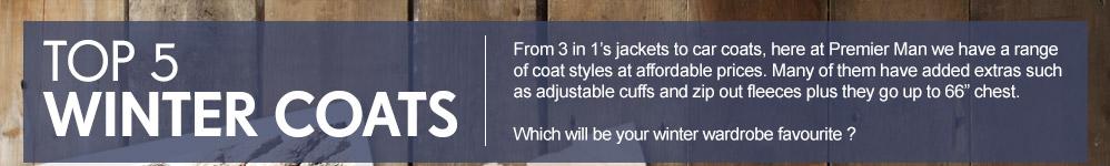 Top 5 Winter Coats