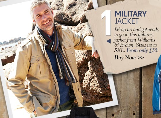 Military Jacket - Buy Now >