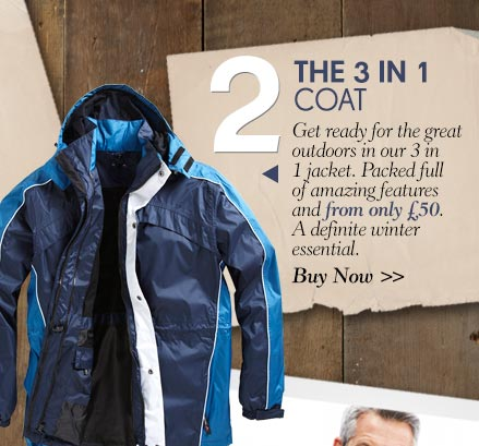 The 3 in 1 Coat - Buy Now >
