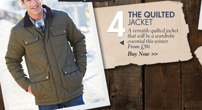 The Quilted Jacket - Buy Now >