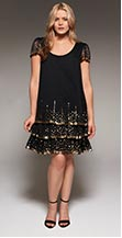 shop Project D London Buckingham Sequin Party Dress