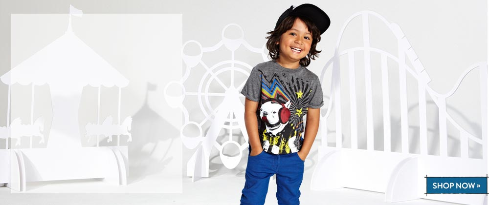 The Kids Division. Shop now >