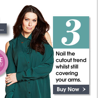 Top 3 - Nail the cutout trend whilst still covering your arms