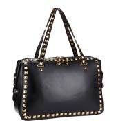 Shop black studded bag >