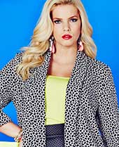 Shop Animal Jacquard Boyfriend Blazer >