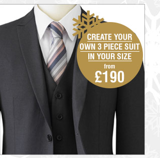 Create your own 3 piece suit >